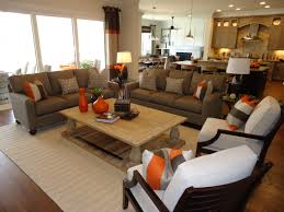 Teen Bedroom Setup Ideas Living Room Luxury Brown Wall Decoration Idea With White Sofas And