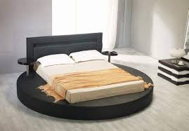 round bed frame black padded leather round bed frame with light in headboard rhode