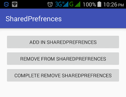 android sharedpreferences exle android sharedpreferences to save data internally tutorial study