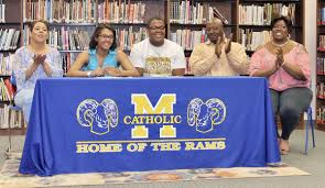 What Is The National Letter Of Intent by Sharing The Spotlight Rams Seniors Sign Volleyball Football