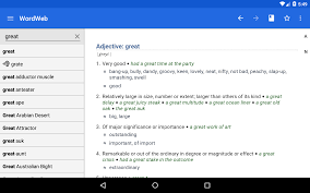 dictionary wordweb android apps on google play