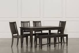 dining room sets to fit your home decor living spaces valencia 64 inch 6 piece extension dining set main