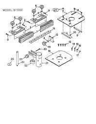 ryobi table saw parts model bt3000 sears partsdirect