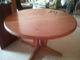 round pine dining table round dining dining tables gumtree australia free local
