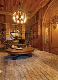 old world gothic style homes what a great entertaining room