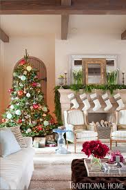 decorating holiday mantels traditional home