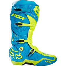 mx boots new fox racing mx 2017 le instinct glen helen flo yellow teal