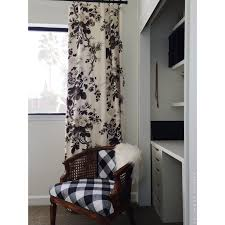 Black And White Buffalo Check Curtains One Room Challenge The Reveal Holtwood Hipster