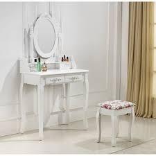 meuble coiffeuse pour chambre meuble coiffeuse maquillage idées décoration intérieure