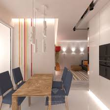 modern style design of the 1 room apartment 16 photos interior