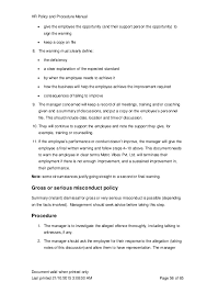 hr manual template employment handbook template for word notes