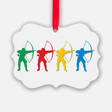 archery ornament cafepress