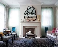 Livingroom Mirrors Fireplace Mirrors With Coffee Table Living Room Transitional And