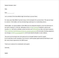 10 fundraising letter templates u2013 free sample example format
