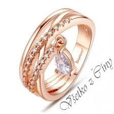 snubny prsten bamoeer bohem prsten zlatej farby dnubny prsten