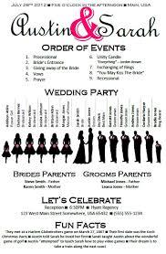 wedding program template https www etsy com listing 115482468