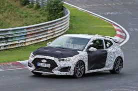 hyundai veloster spied hyundai veloster n sheds camo motor trend