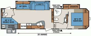Sportsman Rv Floor Plans 2017 Kz Rv Sportsmen 322bhk