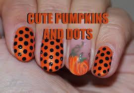 pumpkin nail design gallery nail art designs