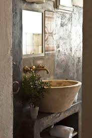 18 cool natural stone sinks design ideas