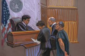 el chapo court sketch abc news australian broadcasting corporation