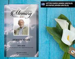 funeral program paper angel wing funeral program template obituary program