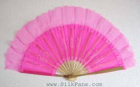 silk fans silk fan