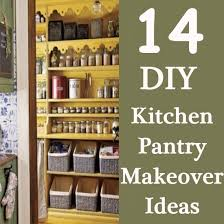 diy kitchen pantry ideas 14 diy kitchen pantry makeover ideas diy home creative