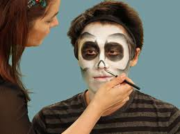 Skeleton Face Paint For Halloween by Halloween Makeup Tutorial Skeleton Hgtv