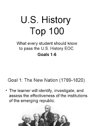 u s top 100 goals 1 6 abraham lincoln federalist party