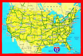 road map usa map usa road map major tourist attractions maps