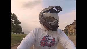 afx motocross helmet first motorcyle and helmet review 2013 fz6r afx fx41 youtube