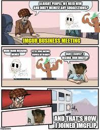 Business Meeting Meme - imgur meeting suggestion imgflip