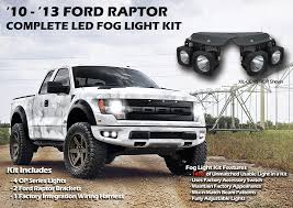 rip through the darkness with vision x lighting u0027s ford raptor fog
