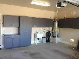 Trash Can Storage Cabinet Stylish Garage Storage Cabinets From Adorable Garage Designoursign