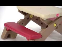 step 2 folding picnic table raptor concept store step2 fun fold jr picnic table youtube