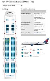 757 seat map delta airlines boeing 757 airline seating chart airline seating