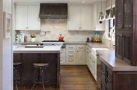 the ideas kitchen the ideas of decorating kitchen with two tone kitchen cabinets