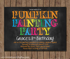pumpkin invitation customize your invitation u2014 invitationcelebration com