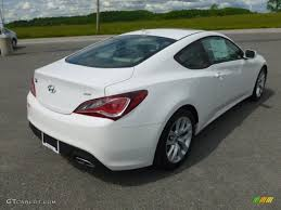 2013 hyundai genesis 2 0t for sale monaco white 2013 hyundai genesis coupe 2 0t premium exterior