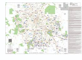 Denver Metro Map by Major Metro Trails Coloradobikemaps