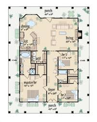 southern style house floor plans