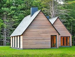building a home in vermont modern marlboro cottages use natural and locally sourced materials