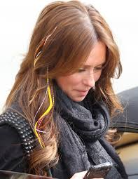 jennifer love hewitt hair extensions white rose trend feather hair extensions