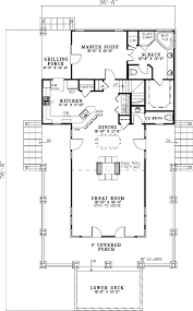 country cabin floor plans plan 59964nd low country cottage house plan country houses