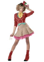 Hello Kitty Halloween Costumes by Halloween Costumes For Girls Teen Girls Mad Hatter Costume