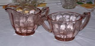 Pink Depression Glass Vase Depression Glass Price Guide And Pattern Identification