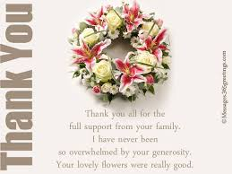 thank you for funeral flowers thank you for flowers at funeral mba degree info