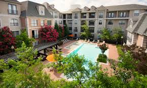 House Plans With Pool In Center Courtyard Dallas Luxury Apartments The Renaissance At Preston Hollow