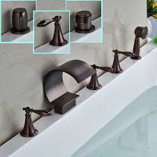 Cheap Bronze Bathroom Faucets by Online Get Cheap Bronze Tub Faucet Aliexpress Com Alibaba Group